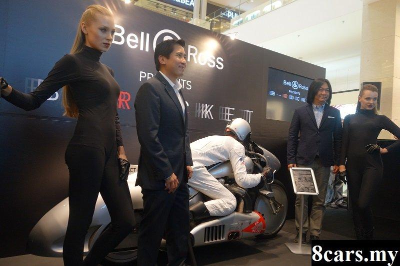 Bell & Ross推出B-Rocket飞行摩哆