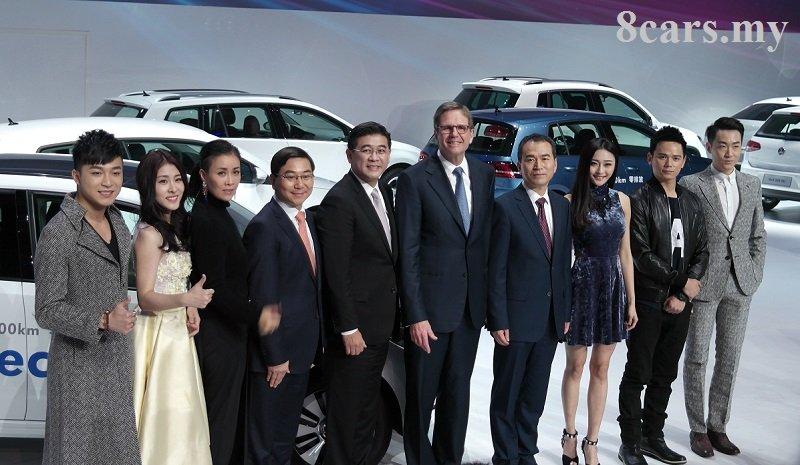 广州车展直击:2014 Volkswagen品牌之夜宣布更换车尾标识