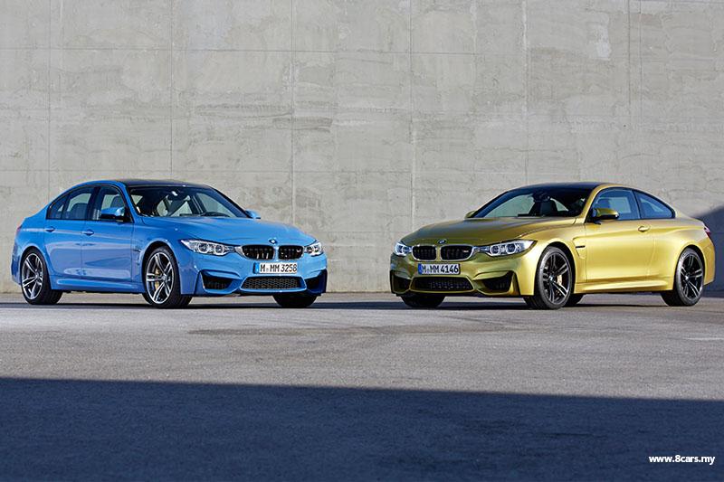 BMW 四门M3与双门M4登场