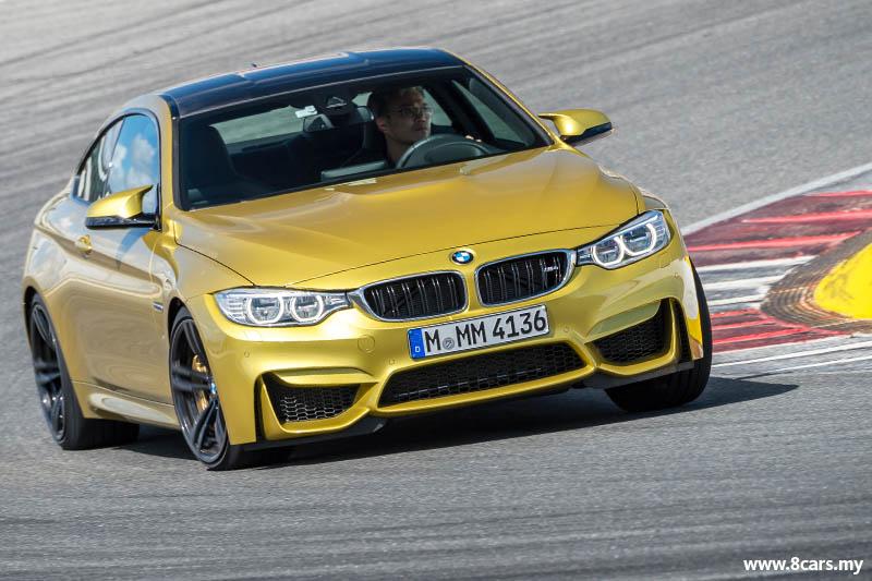 2014 BMW 四门M3与双门M4登场