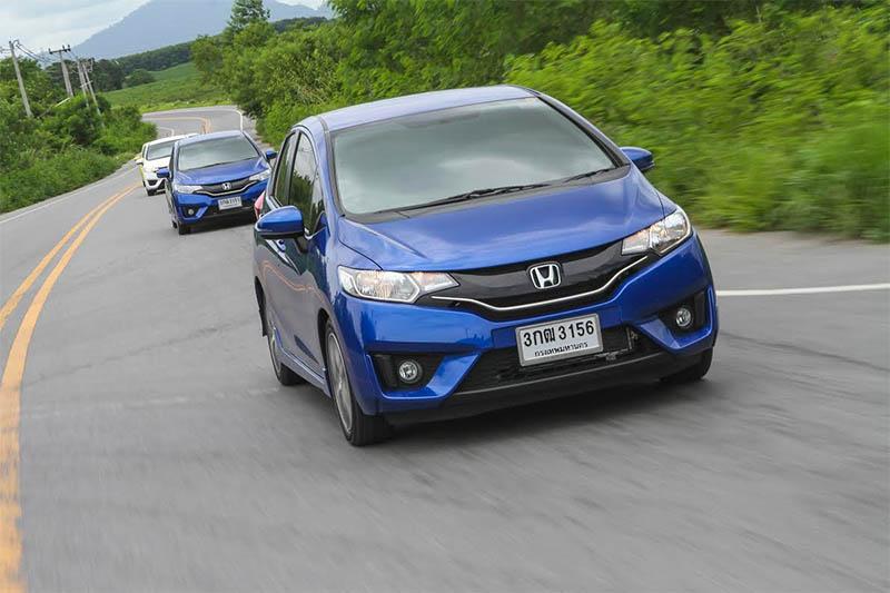 泰国试驾第三代Honda Jazz