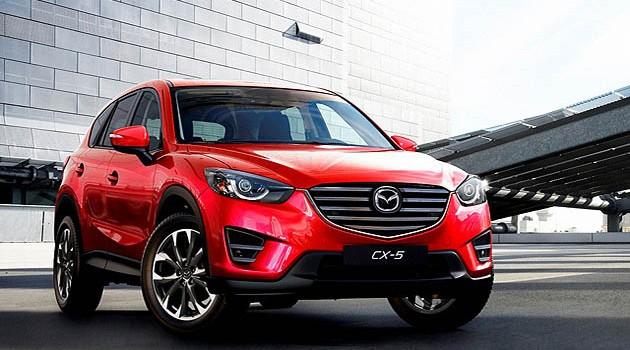 Mazda CX5小改款,更加时尚动感!