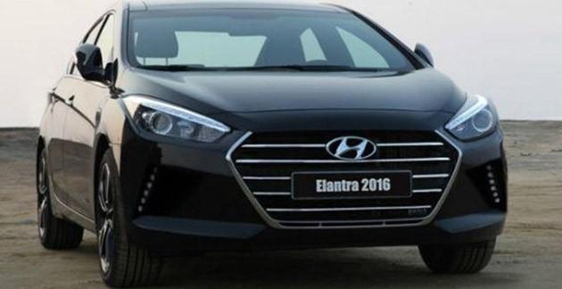 新一代Hyundai Elantra预计四月发表