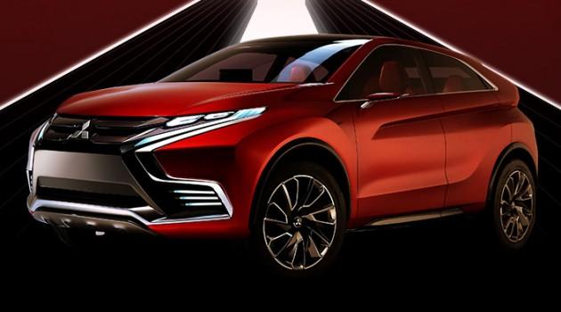 动能跨界SUV,Mitsubishi XR-PHEV II概念车渐露曙光