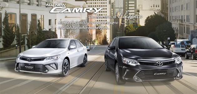 泰版Toyota Camry改款正式发售