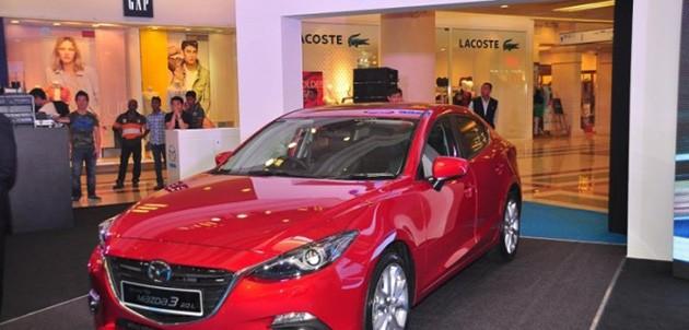 下个月登场的Mazda 3 CKD售价从RM105k起