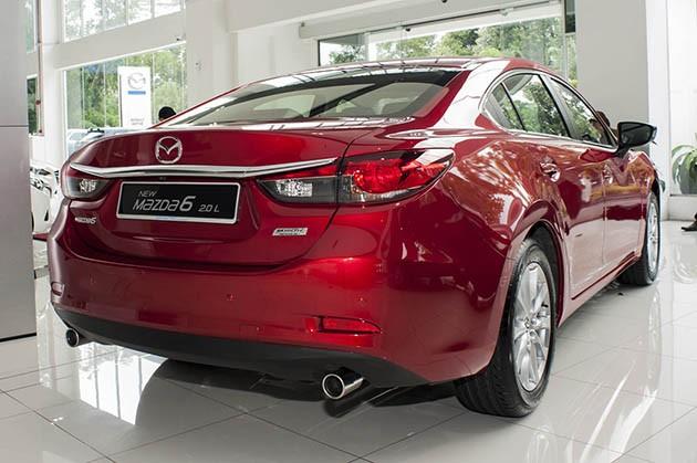 Mazda6小改款本地亮相!