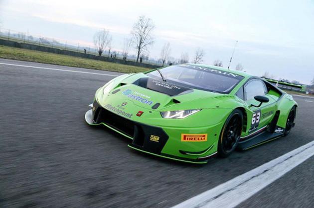 蛮牛Lamborghini Huracan GT3 赛道最强大武器!