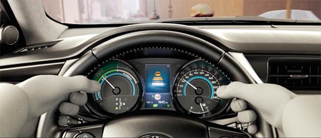 全新Corolla Hybrid亮相北京车展