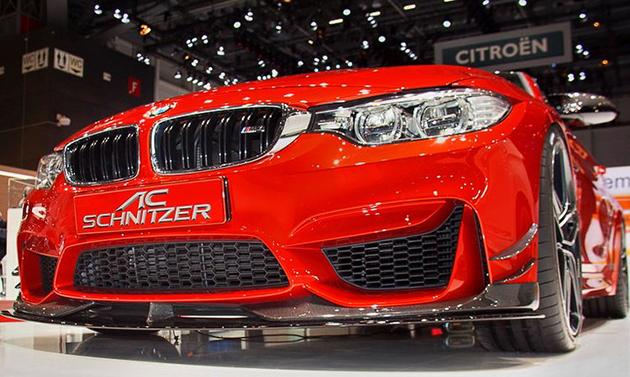 BMW F82 M4 AC Schnitzer现身!