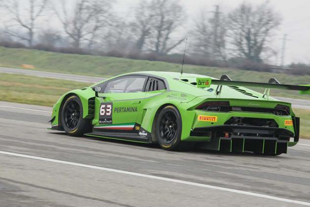 蛮牛Lamborghini Huracan GT3 赛道最强大武器