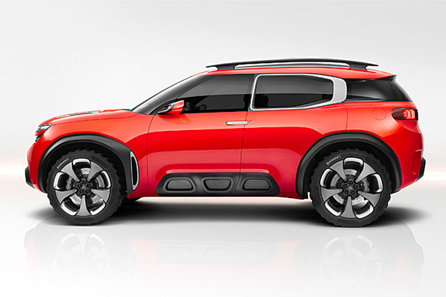 Citroën AirCross概念车亮相