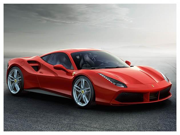 亚洲首演!Ferrari 488 GTB驾临上海!