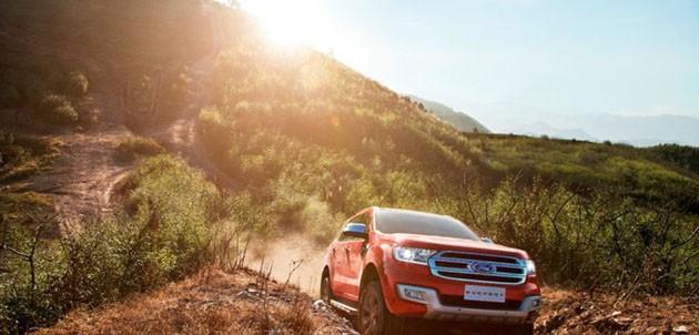 Ford的智能新Everest为东盟SUV市场带来细化和坚固能力
