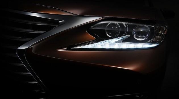 Lexus ES小改款现身!