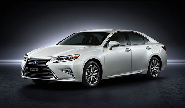 Lexus ES Facelift,奢华的升级。