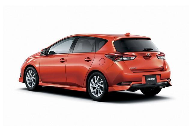 小排气Turbo入侵日本,Toyota Auris 1.2T日本发表