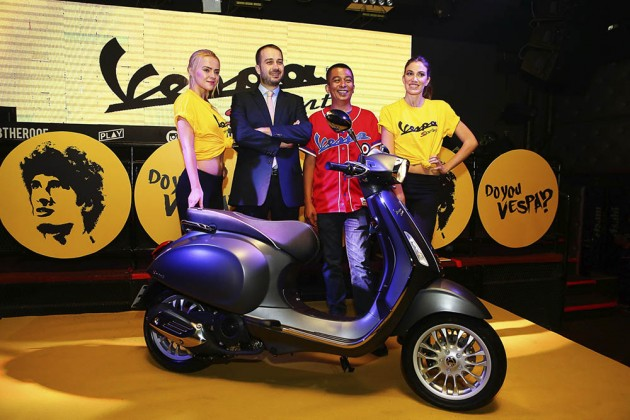 NAZA Premira正式在马来西亚发表Vespa Sprint