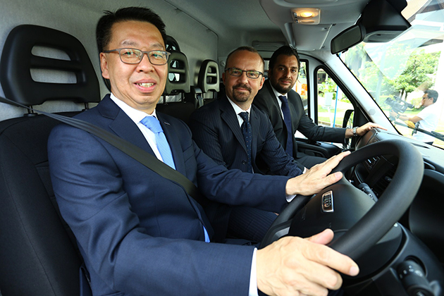 Iveco与经销商Federal Auto 为大马商用车领域推介系列齐全产品