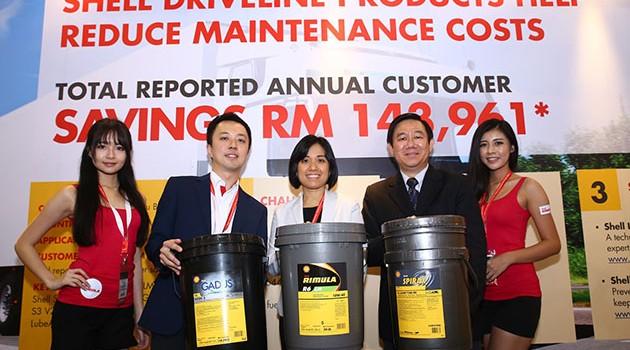 蚬壳Shell Driveline 产品 '减少停工时间及提升完工效率'