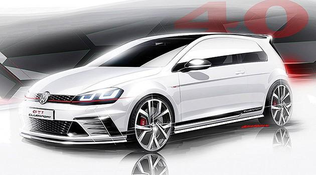 "2016年Volkswagen准备投产全新性能""Golf GTI Clubsport""!"