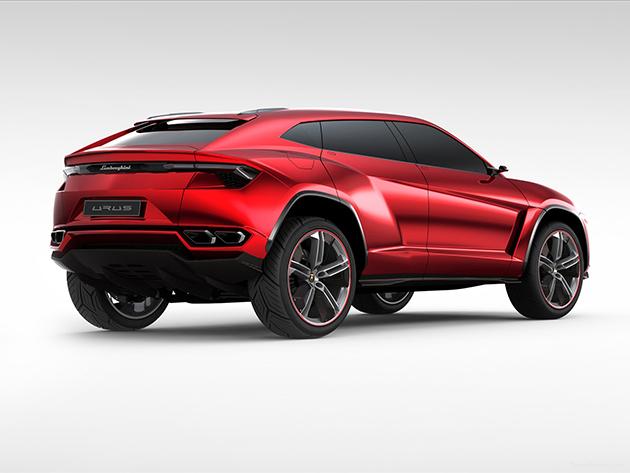 带有蛮牛特性!Lamborghini SUV 2018推出!