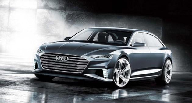 Audi在日内瓦车展,推出车身长达17尺的Prologue Avant概念车