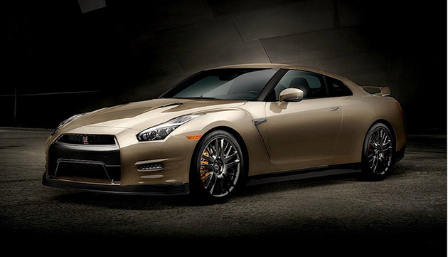 Nissan GT-R 45th Anniversary Gold Edition耀眼现身!