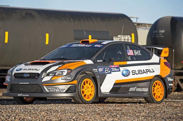 """改朝换色的""""Subaru WRX STI RallyCross""""将投入2015 Red Bull GRC赛事"""