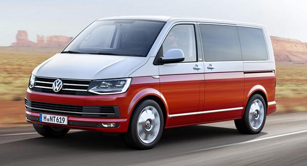 VW正式发表了第六代VW Transporter