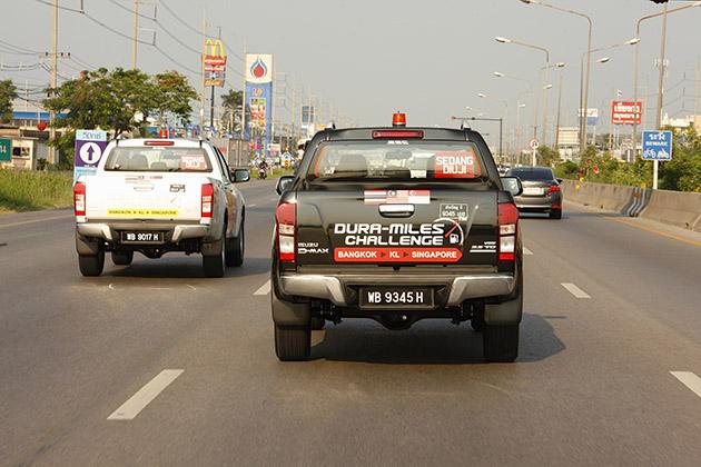 曼谷至新加坡仅用一缸燃油 - 唯有五十铃 D-MAX