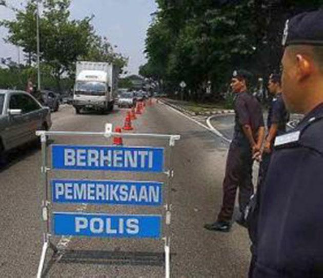 """武吉阿曼警方今公布了5月17号在云顶来往方向所展开的"""" OP BERSAMA KHAS""""态度行动中总共发出了""""759""""张传票"""