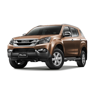 2015 Isuzu MU-X 2.5L 4×4 AT