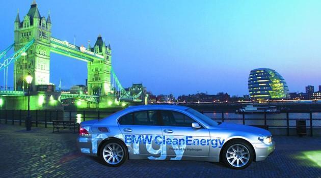 BMW也要用屎作燃料?氢燃料车2020年发布!