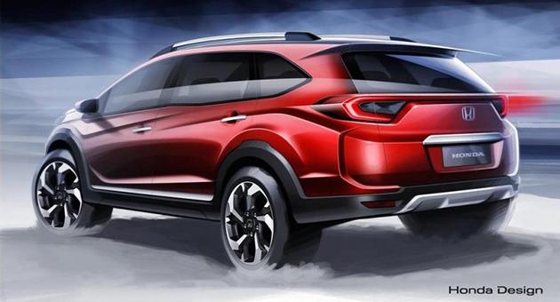 全新小型SUV抢攻市场!Honda BR-V印尼国际车展展出!