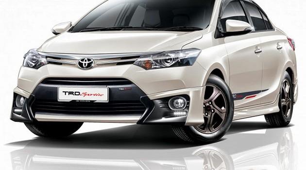 Toyota Vios和Hilux新增配件!