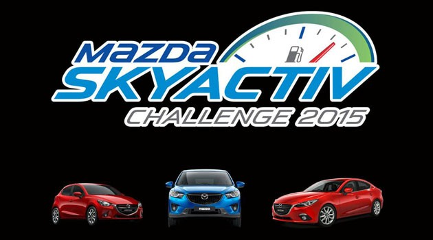 预测Mazda Skyactiv Challenge 2015平均耗油量赢现金与丰富奖品
