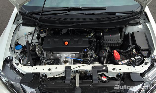 2015 Civic 1.8,小改配备升级