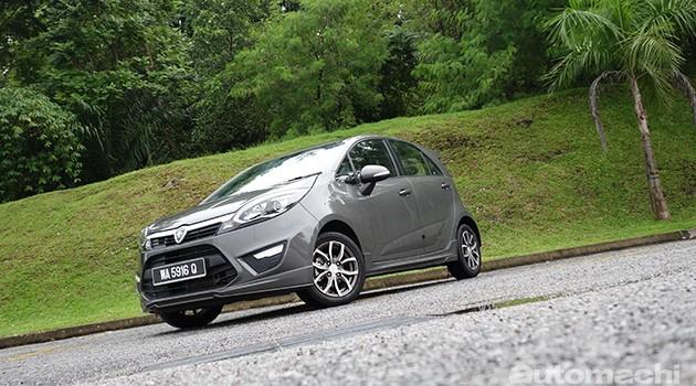 Proton Iriz 1.6 Premium,注重安全的小车