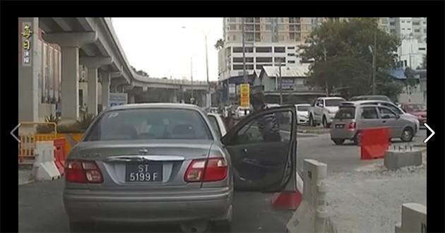 (视频)USJ 1路霸事件马来友族见义勇为制止路霸!
