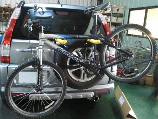 脚踏车架安装在车尾将被罚款300令吉!