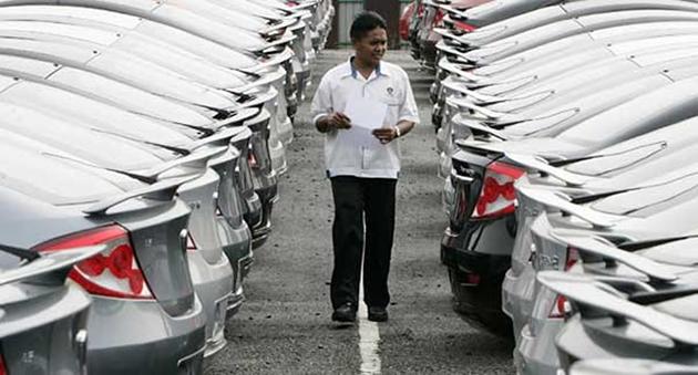 多年来首次销量放缓!马来西亚2015上半年汽车销量下跌3.3%!