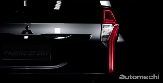 2016 Mitsubishi Pajero sport大量细节公布!