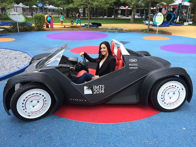 Ford推广3D打印,未来汽车零件可通过3D打印快速制造!