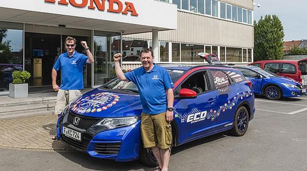 37.375km/L!Honda Civic Tourer 1.6创造新油耗记录!