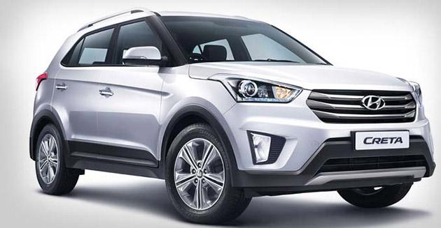 小型SUV大混战!Hyundai Creta印度上市!