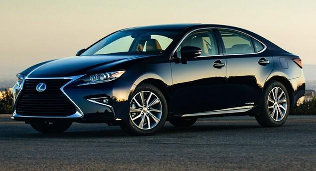 Lexus ES小改款美国正式发布!