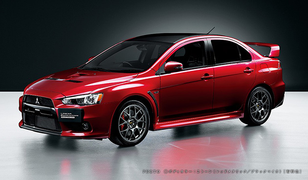 Mitsubishi Lancer Evolution X Final Edition登录美国!