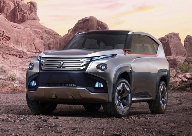 Mitsubishi Pajero 2016 即将在8月现身!