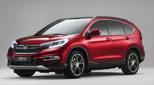 下一代Honda CR-V七人座而且更加大!